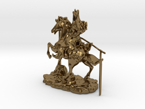Chinese Knight 2 in Polished Bronze