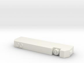 1/87 Segrave MII Bumper in White Natural Versatile Plastic