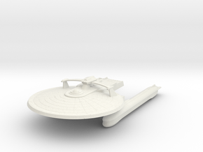 Kittly Hawk Class  Destroyer in White Natural Versatile Plastic