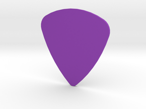 Guitar Pick 1.0mm in Purple Strong & Flexible Polished