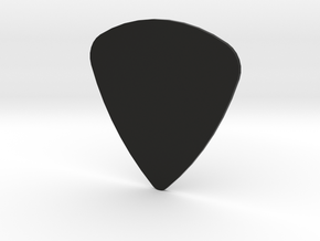 Guitar pick 0.9mm in Black Strong & Flexible