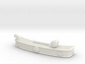 1/87 ALF Eagle Bumper With Front Suction in White Natural Versatile Plastic