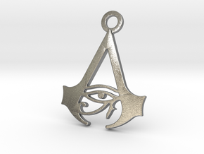 Assassin's Creed Origins Pendant in Natural Silver