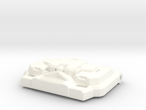 """Paranoid Streetracer's Chest Plate """"IDW"""" in White Processed Versatile Plastic"""