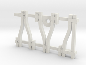 Y-Schwellengleis, Code 75, 40 mm, Übergangsgleis in White Strong & Flexible