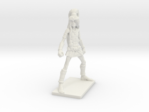 Fantasy Figures 03 - Monk in White Natural Versatile Plastic