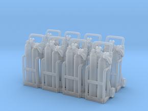 Oxy acetylene welder 01. HO Scale (1:87) in Frosted Ultra Detail