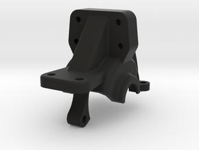 JB Carbon B6 Split Diff Case Replacement Top Part in Black Natural Versatile Plastic