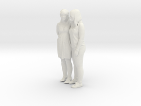 Printle C Couple 030 - 1/24 - wob in White Strong & Flexible