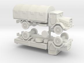 German MAN 630 5to Cargo Truck 1/144 in White Natural Versatile Plastic