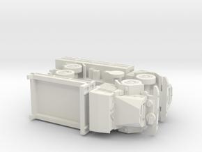 Geman MAN 630 5to Truck Variants 1/144 in White Natural Versatile Plastic