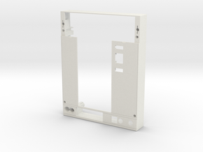 Withdrawable accessory Cover in White Natural Versatile Plastic