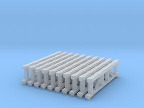 Tieflader Auflagebock 10 stk in Smooth Fine Detail Plastic