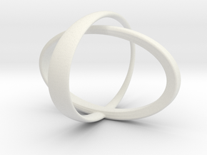 Orbit bracelet in White Natural Versatile Plastic