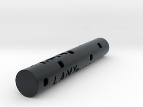 Adapter: Lamy M22 to D1 Mini (58mm Cut) in Black Hi-Def Acrylate
