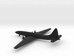 Bristol Type 167 Brabazon in Black Natural Versatile Plastic: 1:600