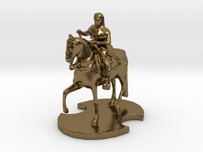 Medieval King (2) in Polished Bronze