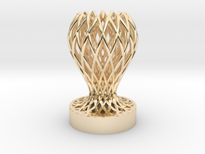 1/1 Mini Trophy in 14k Gold Plated Brass