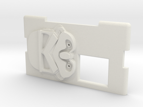 Kmods Squonker Empire Stormtrooper door in White Natural Versatile Plastic