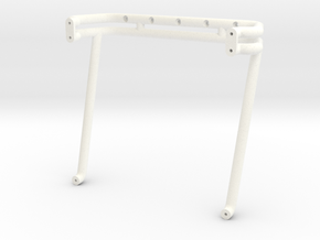 "1988 Chevy ""USA-1"" Rollbar in White Processed Versatile Plastic"