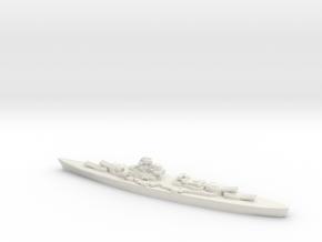 KMS Bismarck/Tirpitz in White Natural Versatile Plastic