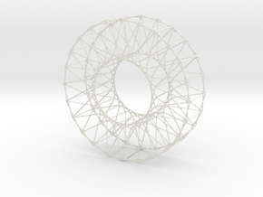 Wheel in White Strong & Flexible