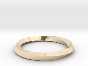 Mobius Wedding Ring-size10 in 14K Yellow Gold