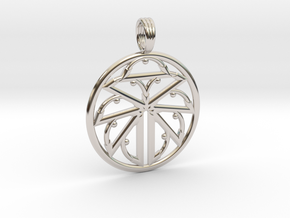 MYTHIC ENERGICO in Rhodium Plated Brass