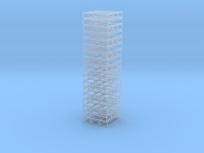 Void Jenga Mini in Smooth Fine Detail Plastic
