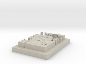 MOBILE  BOUTIQUE in Natural Sandstone: 1:20000