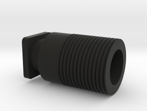 H8R Thread Adapter (14mm CCW) in Black Strong & Flexible