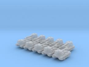 1/700 German VK 72.01 (K) Heavy Tank x10 in Smoothest Fine Detail Plastic