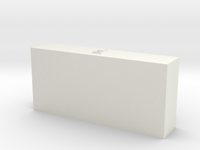 1/87 Under Body Toolbox #3 in White Natural Versatile Plastic