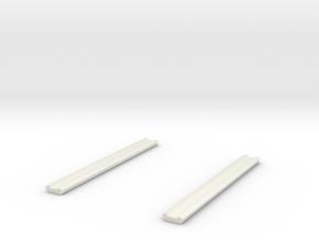 1/87 Hard Suction Cradles Set Of 2 #2 in White Natural Versatile Plastic