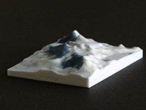 Vinson Highlands, Antarctica, 1:250000 Explorer in Full Color Sandstone