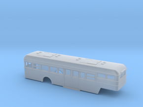 NS Bus (Crossley) Oplegger 160 in Smooth Fine Detail Plastic