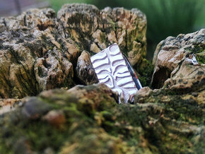 TIGER PRINT in Rhodium Plated: 7 / 54