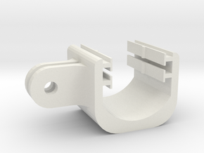Contour Mount 3 in White Natural Versatile Plastic