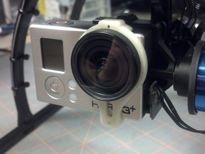 Tarot T-2D GoPro Gimbal Clamp for Lens Protectors in White Natural Versatile Plastic