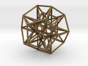 Polyhedron 666 in Natural Bronze