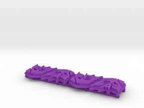 Titan Master Decepticon Symbol Stands (4) in Purple Processed Versatile Plastic