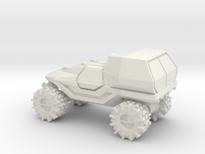 All-Terrain Vehicle with enclosed cargo area in White Natural Versatile Plastic