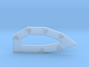 Turnkey (Hollow) for Starfire Miniatures in Smooth Fine Detail Plastic