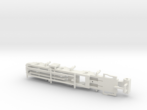 L&YR Class 28 Mogul Experiment - EM Chassis in White Natural Versatile Plastic