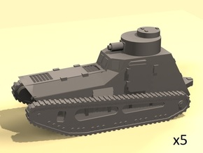 6mm LK-II light tank (MG armed) in Smoothest Fine Detail Plastic