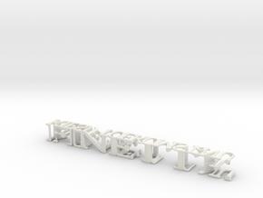 3dWordFlip: FINETTE/KIESJETOEKOMST.NU in White Strong & Flexible