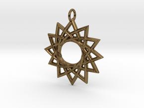 Sunna in Natural Bronze