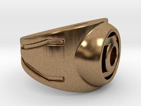 Green Lantern Ring in Natural Brass: 9 / 59