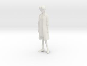 1/24 Female Doctor in White Natural Versatile Plastic