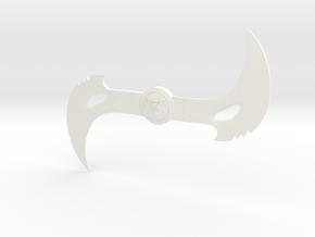 Blade Boomerang 1/6 scale in White Processed Versatile Plastic